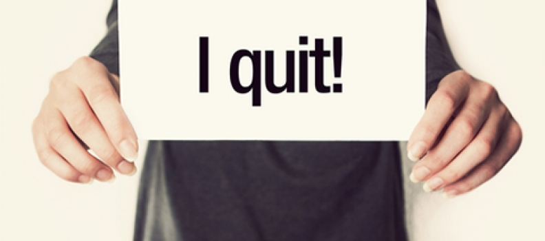 QUITTING EMPLOYEE REQUIRED TO WORK THROUGH NOTICE PERIOD